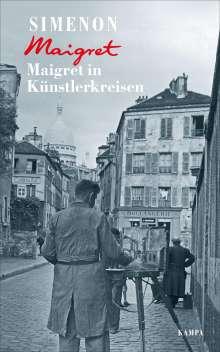 Georges Simenon: Maigret in Künstlerkreisen, Buch