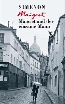 Georges Simenon: Maigret und der einsame Mann, Buch