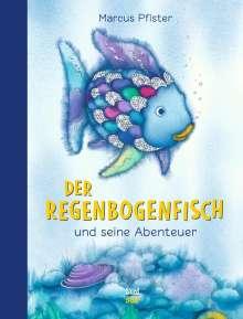 Marcus Pfister: Der Regenbogenfisch und seine Abenteuer, Buch