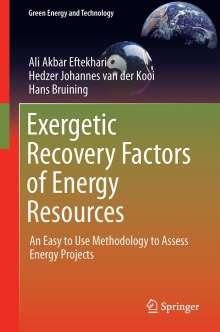 Ali Akbar Eftekhari: Exergetic Recovery Factors of Energy Resources, Buch