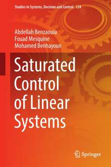 Mohamed Benhayoun: Saturated Control of Linear Systems, Buch