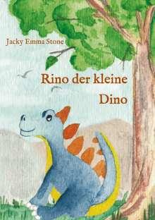 Jacky Emma Stone: Rino der kleine Dino, Buch
