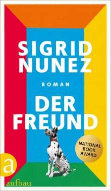Sigrid Nunez: Der Freund, Buch