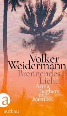 Volker Weidermann: Brennendes Licht, Buch