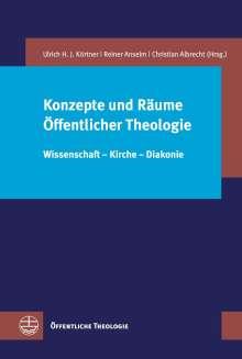 Konzepte und Räume Öffentlicher Theologie, Buch