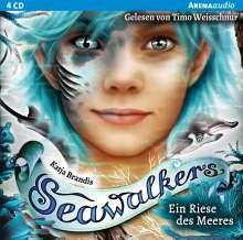 Katja Brandis: Seawalkers (4)., 4 CDs
