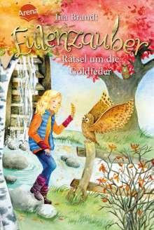 Ina Brandt: Eulenzauber 05. Rätsel um die Goldfeder, Buch
