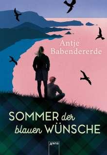 Antje Babendererde: Sommer der blauen Wünsche, Buch