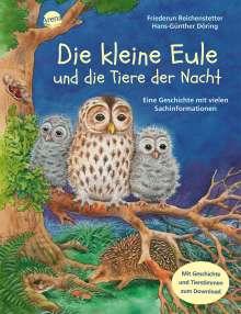 Friederun Reichenstetter: Die kleine Eule und die Tiere der Nacht, Buch