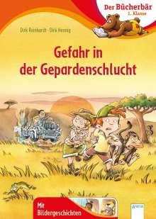 Dirk Reinhardt: Gefahr in der Gepardenschlucht, Buch
