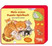 Hans-Günther Döring: Mein erstes Puzzle-Spielbuch. Meine liebsten Tierkinder, Buch