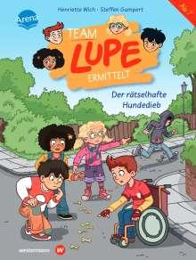 Henriette Wich: TEAM LUPE ermittelt (1). Der rätselhafte Hundedieb, Buch