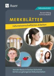 Renate Fölting: Merkblätter naturwissenschaftliches Arbeiten, Buch