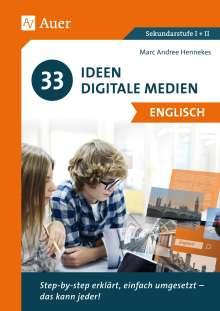 Hennekes: 33 Ideen Digitale Medien Englisch, Buch