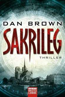 Dan Brown: Sakrileg, Buch
