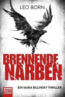 Leo Born: Brennende Narben, Buch
