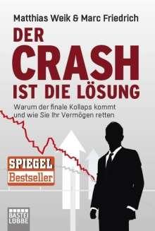 Matthias Weik: Der Crash ist die Lösung, Buch