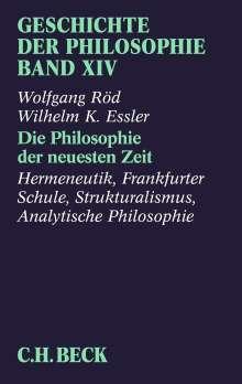 Wolfgang Röd: Geschichte der Philosophie 14, Buch