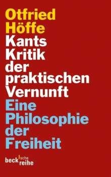 Otfried Höffe: Kants Kritik der praktischen Vernunft, Buch