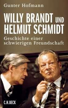 Gunter Hofmann: Willy Brandt und Helmut Schmidt, Buch