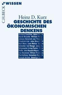 Heinz D. Kurz: Geschichte des ökonomischen Denkens, Buch