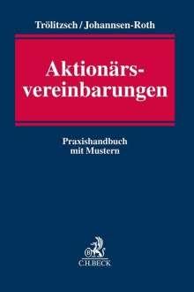 Thomas Trölitzsch: Aktionärsvereinbarungen, Buch