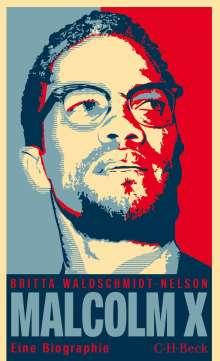 Britta Waldschmidt-Nelson: Malcolm X, Buch