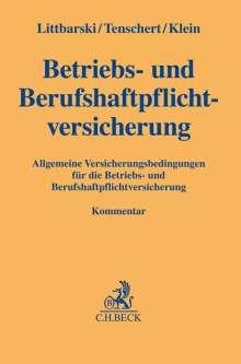 Betriebs- und Berufshaftpflichtversicherung, Buch