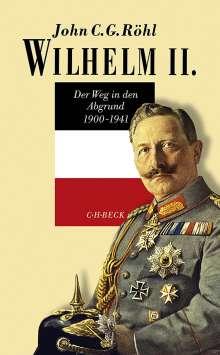 John C. G. Röhl: Wilhelm II., Buch