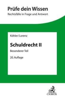 Helmut Köhler: Schuldrecht II, Buch