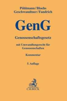 Peter Pöhlmann: Genossenschaftsgesetz, Buch