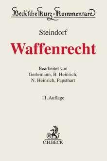 Jörg-Henning Gerlemann: Waffenrecht, Buch