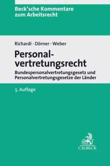Personalvertretungsrecht, Buch