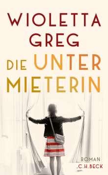 Wioletta Greg: Die Untermieterin, Buch