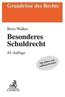 Hans Brox: Besonderes Schuldrecht, Buch