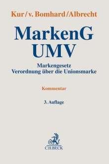MarkenG - UMV, Buch