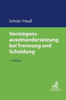 Werner Schulz: Vermögensauseinandersetzung bei Trennung und Scheidung, Buch
