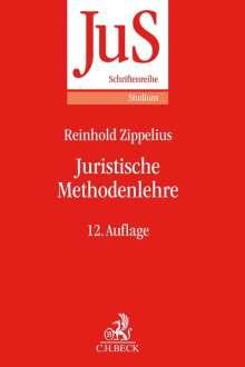 Reinhold Zippelius: Juristische Methodenlehre, Buch