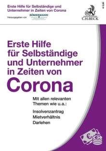 Erste Hilfe für Selbständige und Unternehmer in Zeiten von Corona, Buch