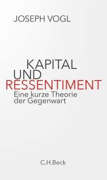 Joseph Vogl: Kapital und Ressentiment, Buch