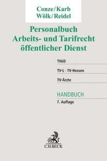 Peter Conze: Personalbuch Arbeits- und Tarifrecht öffentlicher Dienst, Buch