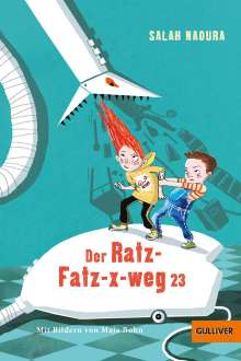 Salah Naoura: Der Ratz-Fatz-x-weg 23, Buch