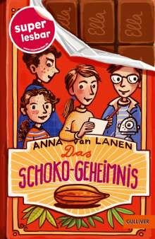 Anna van Lanen: Das Schoko-Geheimnis, Buch