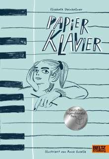 Elisabeth Steinkellner: Papierklavier, Buch
