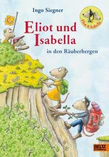 Ingo Siegner: Eliot und Isabella in den Räuberbergen, Buch