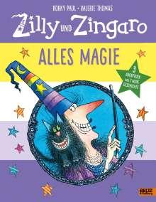 Korky Paul: Zilly und Zingaro. Alles Magie, Buch