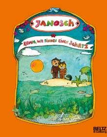 Janosch: Komm, wir finden einen Schatz, Buch