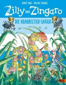 Korky Paul: Zilly und Zingaro. Die Krabbeltier-Safari, Buch
