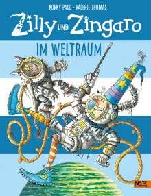 Korky Paul: Zilly und Zingaro. Im Weltraum, Buch