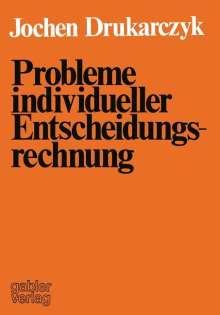 Jochen Drukarczyk: Probleme individueller Entscheidungsrechnung, Buch